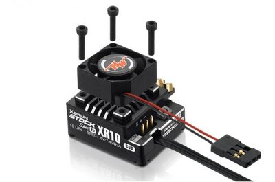 Hobbywing XeRun XR10 PRO-STOCK SPEC-1S V4 ESC 80A Black - 30112751