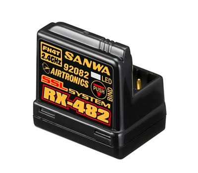SANWA RX-482 Telemetry/SSL Receiver - 107A41257A