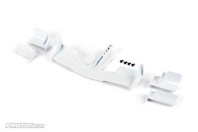PROTOform V2 F1 Front Wing (White) for 1:10 Formula 1 - 1729-04
