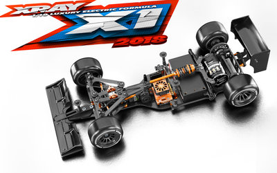 XRAY X1 - 2019 SPECS- LUXURY 1/10 FORMULA - 370704