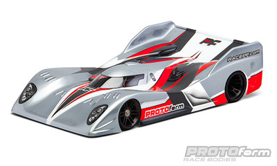 PROTOFORM Strakka-12 Light Weight Clear Body for 1:12 On-Road Car - 1614-20