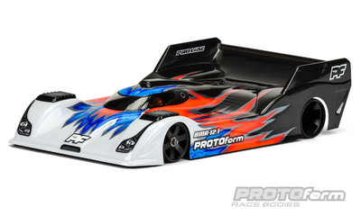 PROTOFORM BMR-12.1 PRO-Light Weight Clear Body for 1:12 On-Road Car - 1616-15