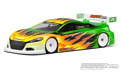 PROTOFORM Dodge Dart light-weight Clear Body 190mm - 1541-25
