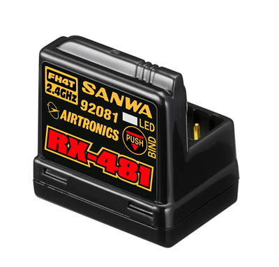 SANWA RX-481 Receiver - 107A41251A