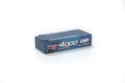 LRP HV LCG Stock Spec Shorty GRAPHENE-3 4000mAh Hardcase - 7.6V LiPo - 130C/65C - 430275