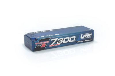 LRP HV Stock Spec GRAPHENE-3 7300mAh Hardcase Akku - 7.6V LiPo - 130C/65C - 430276