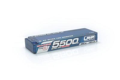 LRP HV Ultra LCG Modified GRAPHENE-3 5500mAh Hardcase Akku - 7.6V LiPo - 120C/60 - 430282