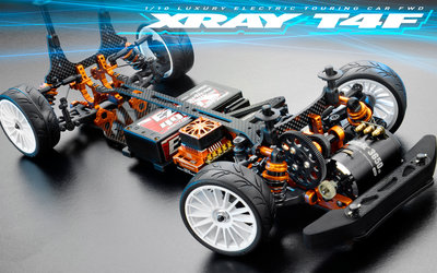 XRAY T4F - 2019 SPECS - 1/10 LUXURY ELECTRIC FWD TC - 300200