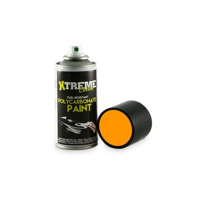 Xtreme Lexan RC PAINT 150ml - Size : Fluo Orange - 1006