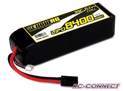 Yellow RC LiPo 8400mAh 11.1V 3S 35C , Slash & Slash 4x4 (exp, YEL2878