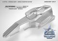 XRAY X1 1/10 FORMULA BODY - WORLD CHAMPION EDITION - 379702