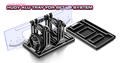 HUDY ALU TRAY FOR SET-UP SYSTEM - 109860