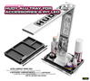 HUDY ALU TRAY FOR ACCESSORIES & PIT LED - 109880