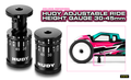 HUDY ADJUSTABLE RIDE HEIGHT GAUGE 30-45M - 107744